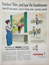 Vintage Air Conditioning Print Ads Ephemera Art Decor