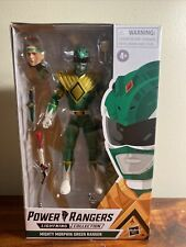 Power Rangers Lightning Collection Mighty Morphin Green Ranger. New. Sealed