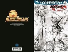 Harley Quinn #1 Jay Anacleto  Heroic Dreams Variant Set 1 Color 1 Sketch