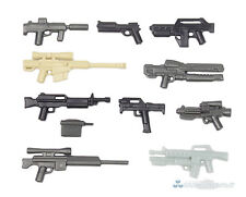 Brickarms value #6 militar de armas set, Custom armas para lego ® personajes