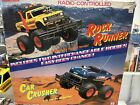 Vintage RadioShack Rock Runner Car Crusher Remote Control *cars and body only*