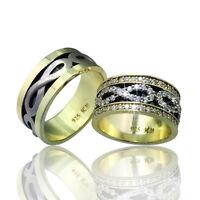 2 Trauringe Silber 925 mit Gravur+Etui Eheringe Verlobungsringe Ringe sc39