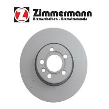 For VW EuroVan 2001-2003 Front Disc Brake Rotor 313mm ZIMMERMANN 7M3615301