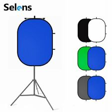 Studio Photography Backdrop Cloth Collapsible Reflector Screen & Magnetic Holder