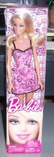Barbie Fashion Doll T7439 W3940 Pink Dress with Roses - 2011