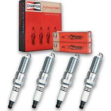 4 pc Champion Platinum Spark Plugs for 2001-2006 Chrysler Sebring - Pre ha