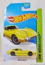 Toyota 2000 GT 1/64 Die-cast Model From HW Workshop by Hot Wheels