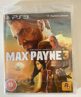Max Payne 3 For PlayStation 3 / PS3 UK PAL Brand New And Sealed