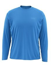 Simms SOLARFLEX Long Sleeve Crewneck ~ NEW Tri Geo Current ~ Large ~ CLOSEOUT