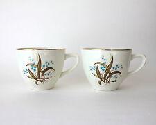 2 Wedgewood Tea Cups with Gold Trim WW219