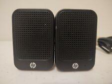 Hp Lcd Speakers Hstnn-Ss01 630797-001 * Computer Laptop, Desktop Mini Speakers *