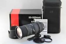 SIGMA EX 50-500mm F4-6.3 APO DG HSM For Four Thirds Original Box Initial Defecti