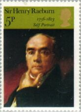 "GREAT BRITAIN -1973- Painting ""Self-portrait"" by Sir Henry Raeburn - MNH - #698"