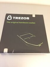 More details for trezor white cryptocurrency wallet - brand new