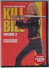 Kill Bill Volume 2 (Dvd, 2011) Tarantino, Uma Thurman, Daryl Hannah, Gordon Liu