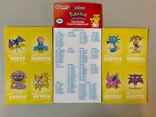 Pokemon Go Meisterdetektiv Pikachu Sticker 8 Klebesticker PPOKCS16 Aufkleber