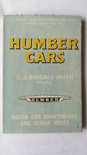HUMBER IMPERIAL PULLMAN HAWK SNIPE NEW HAWK SUPER SNIPE WORKSHOP MANUA 1946 - 60