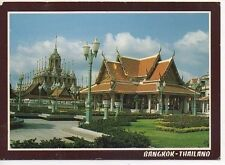 Picture Postcard from Bangkok, Thailand temple typical scene
