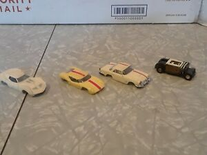 FALLER 1960'S 1 CHASSI & 3 BODIES LOT VINTAGE untested