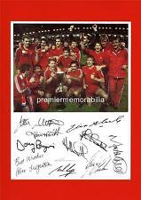 ABERDEEN FC 1983 CUP WINNERS CUP FINAL ALEX FERGUSON SIGNED (PRINTED) x 10 PRINT