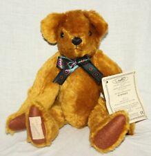 DEANS MOHAIR TEDDY BEAR - HUMPHREY - 1996 COLLECTORS CLUB BEAR - NEW WITH TAGS