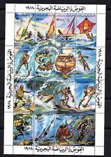 Lybia, postfris, watersport, michel 1253/68