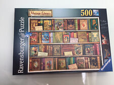 Ravensburger 500 Piece Jigsaw, Vintage Library