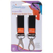 DreamBaby Stroller Pram Shopping Bag Ezy-loop Fit Hooks Clips 2pk Dream Baby