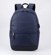 "Men's Black Backpack Water-Resistant Laptop Bag up to 15"" ArcticHunter Rucksack"