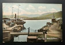 Mint Vintage Albert Basin Newry Co Down Ireland Real Picture Postcard