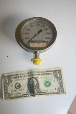 Vintage Pressure Gauge Oil Filled Steampunk