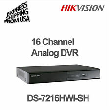 16 Channel Analog DVR WD1 Security Handles 2 Hard Drive Hikvision DS-7216HWI-SH