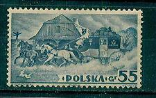 POLONIA 1938 SELLO PROCEDENTE DE HOJA BLOQUE Y&T 5* EXP. FILATÉLICA DE VARSOVIA