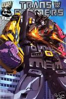 Transformers: Generation 1 vol 1 #6 Decepticon Cover