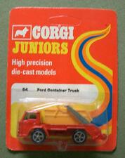 Vintage Corgi Junior 54 Ford Container Truck 1978 Moc