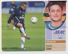 KARIM ZIANI # ALGERIE TROYES ESTAC VIGNETTE STICKER  PANINI FOOT 2003