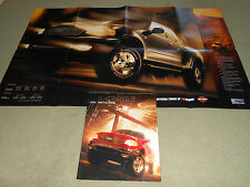 2000 FORD F-150 PICKUP TRUCK BROCHURE, CATALOG, Opens into 22 x 36-Inch POSTER!