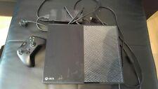Microsoft Xbox One 500GB Schwarz + Controller und allen Anschlusskabeln