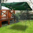 """66""""x45"""" Swing Canopy Cover Replacement Top Outdoor Garden Yard Patio Green"""