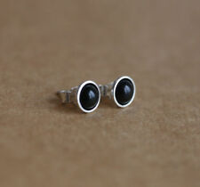 Natural Onyx Sterling Silver Fine Earrings