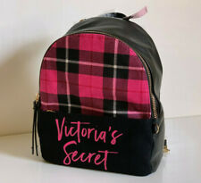 NEW! VICTORIA'S SECRET VS PINK PLAID SMALL CITY TRAVEL BACKPACK BAG SALE