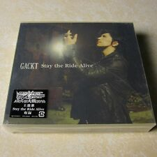 Gackt - Stay The Ride Aliye JAPAN CD+2DVD (1st press) Visual Kei #SJ28