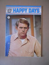 HAPPY DAYS Fonzie Tv Club n°7 1979 -Poster Renato Zero  [G509] BUONO