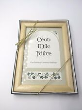 New listing Cead Mile Failte One Hundred Thousand Irish Welcomes Framed New in Gift Box