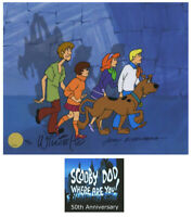 Scooby Doo 50th Ltd Ed cel of 50 Signed by Willie Ito Jerry Eisenberg SOLD OUT