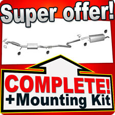 Ford Fusion 1.6 16V Estate 2002-2008 Silencer Exhaust System N90