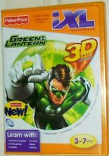 FISHER PRICE iXL GREEN LANTERN CD-ROM 3D GAME CARTRIDGE NEW AGES 3-7