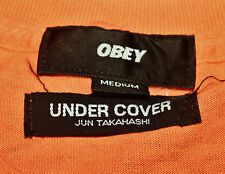 OBEY X UNDERCOVER UNDER COVER JUN TAKAHASHI COLLABORATION T-SHIRT SUPREME CDG