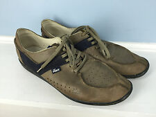 Pony Brown leather oxford Lace up 12 Hail Mary Excellent Product of New York *