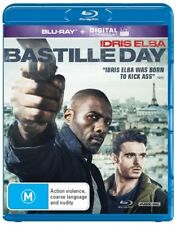 Bastille Day - Blu-ray, 2016 (LIKE NEW) Aus Region B